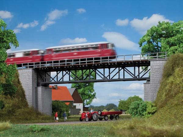 """Auhagen 11364 H0-Modellbausatz, """"Fachwerkbrücke"""""""