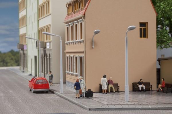 Auhagen 43656 TT-Ausgestaltungs-Zubehör, Peitschenlampenattrappen