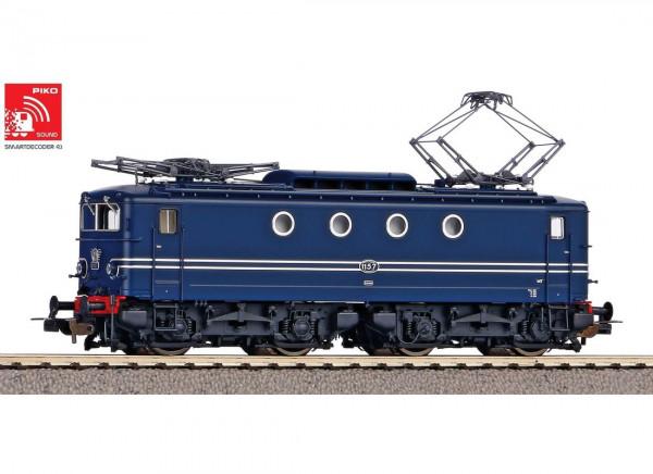 Piko 51367 H0-AC-Sound-Elektrolokomotive Rh 1100 NS blau III + DSS PluX22