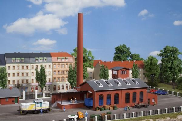Auhagen 13341 TT-Modellbausatz, Fabrikgebäude