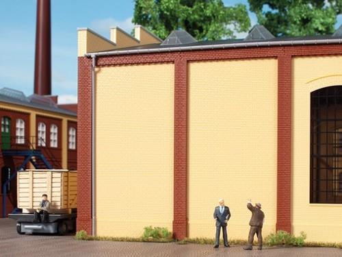 Auhagen 80611 H0-BauKastenSystem / Bauteile: Wände 2342M gelb