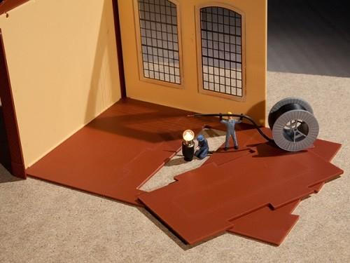 Auhagen 80350 H0-BauKastenSystem / Bauteile: Bodenplatten