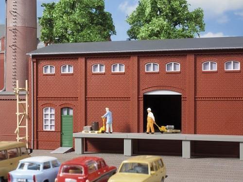 Auhagen 80520 H0-BauKastenSystem / Bauteile: Wand 2410A, Wände 2410B und Wände 2410D rot