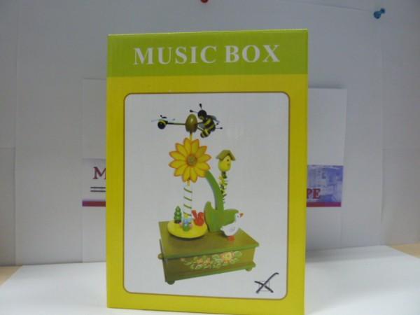 Spieluhr, Art.No. 44032, Sonnenblume