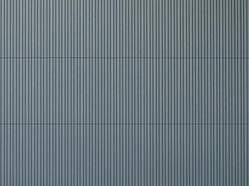 """Auhagen 52231 H0/TT 2-Dekorplatten """"Wellblech"""", grau"""