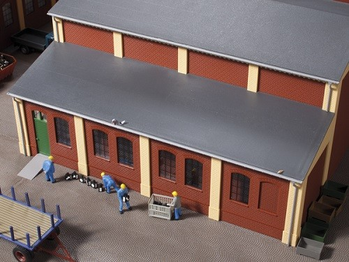 Auhagen 80304 H0-BauKastenSystem / Bauteile: Schleppdächer