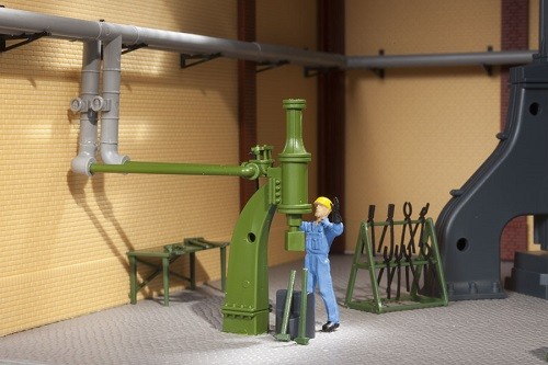 Auhagen 80112 H0-BauKastenSystem / Bauteile: Kleiner Dampfhammer