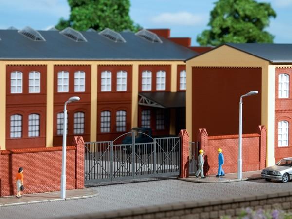 Auhagen 41622 H0-Ausgestaltungs-Zubehör, Einfriedung mit Toren