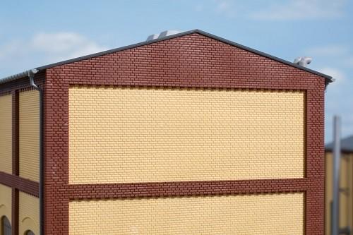 Auhagen 80628 H0-BauKastenSystem / Bauteile: Wände 2532F gelb