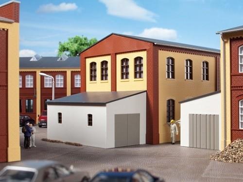 Auhagen 80105 H0-BauKastenSystem / Bauteile: Garagenanbau