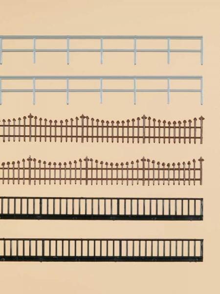 Auhagen 42558 H0/TT-Ausgestaltungs-Zubehör, Eisenzaun und -geländer
