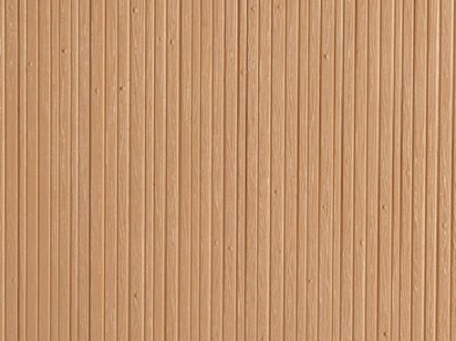 """Auhagen 52218 H0/TT 2-Dekorplatten """"Bretterwand"""", holzfarbig"""