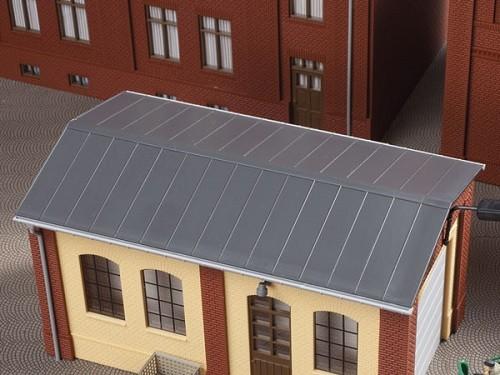Auhagen 80306 H0-BauKastenSystem / Bauteile: Blechdächer