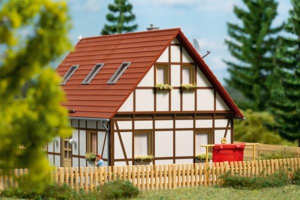 Auhagen 11455 H0-Modellbausatz, Einfamilienhaus