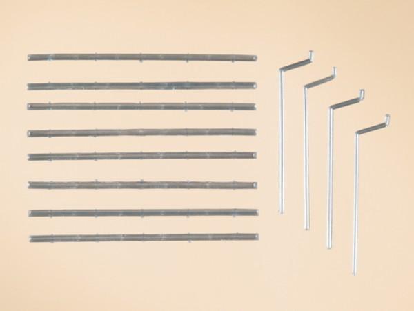 Auhagen 48643 H0/TT-Bauteile: Dachrinnen, Fallrohre